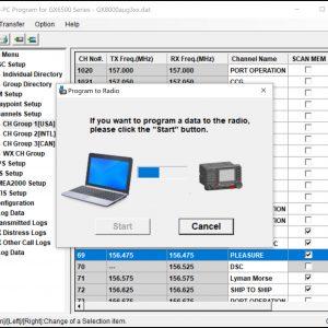 Loading custom interface configuration into SH GX6000