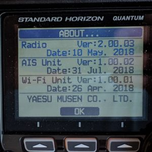 Updated Radio and AIS firmware on GX6000