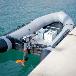 Torqeedo Power 24 battery installed