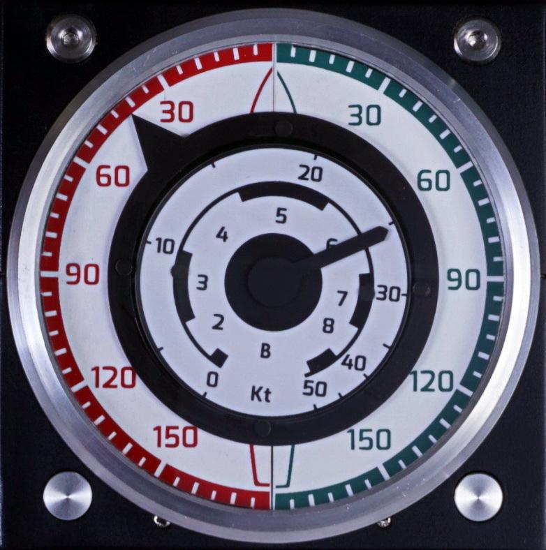 Autonnic A5520 analogue wind display