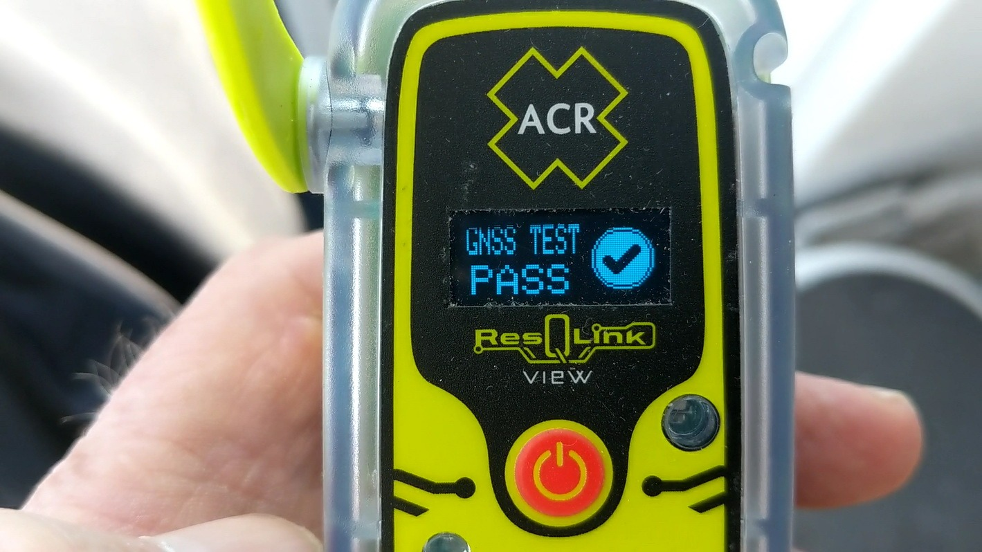 The ResQLink self-test includes RF and battery power, and much more