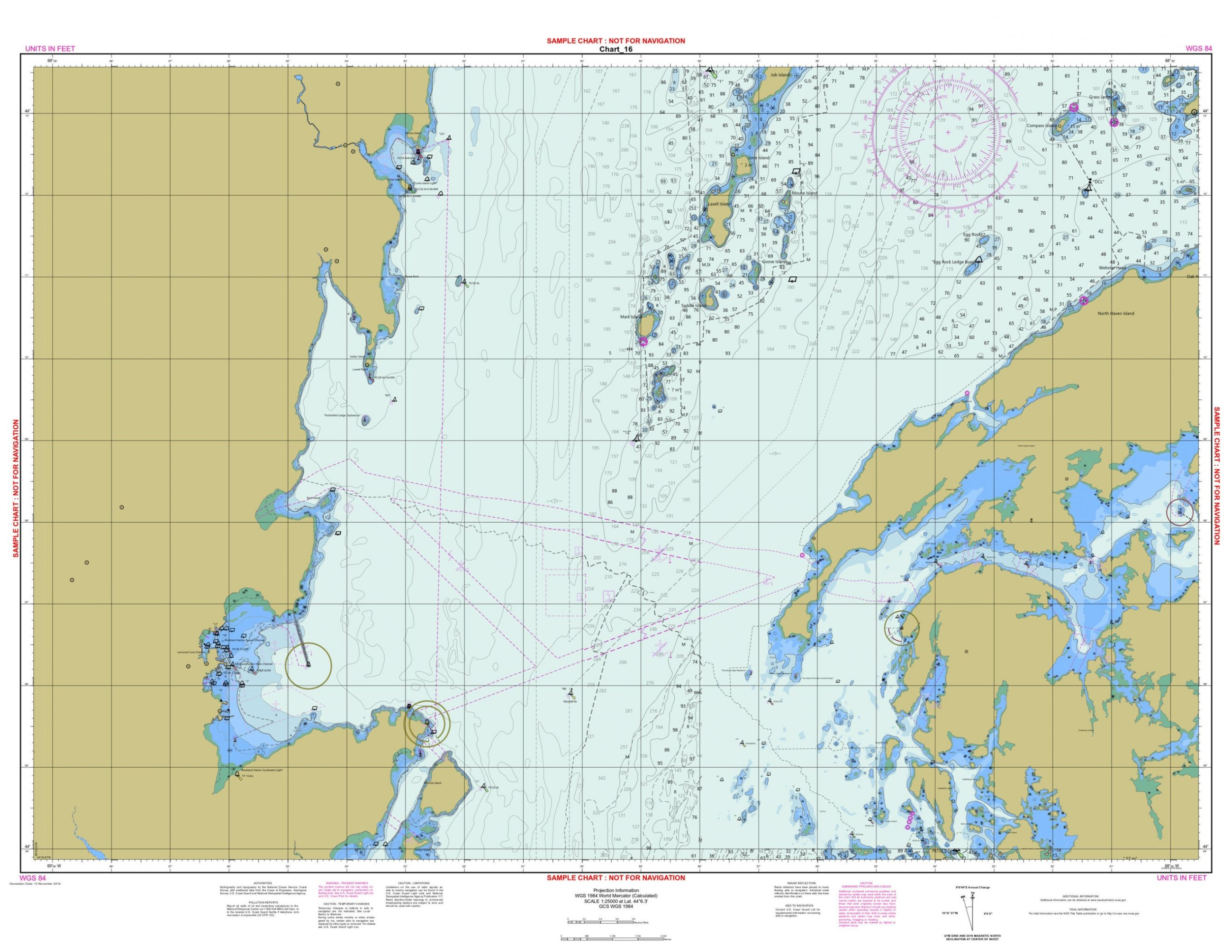 ENC data becomes paper chart with NOAA's Custom Chart Prototype